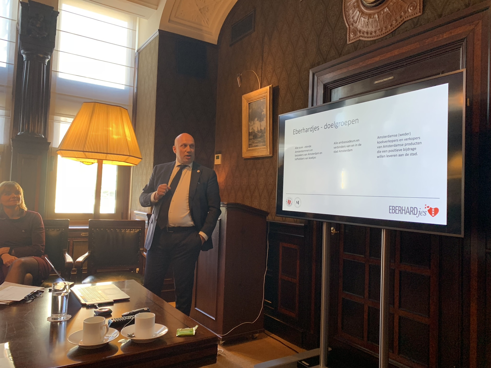 Brainstorm Eberhardjes in de Koninklijke Industrieele Groote Club